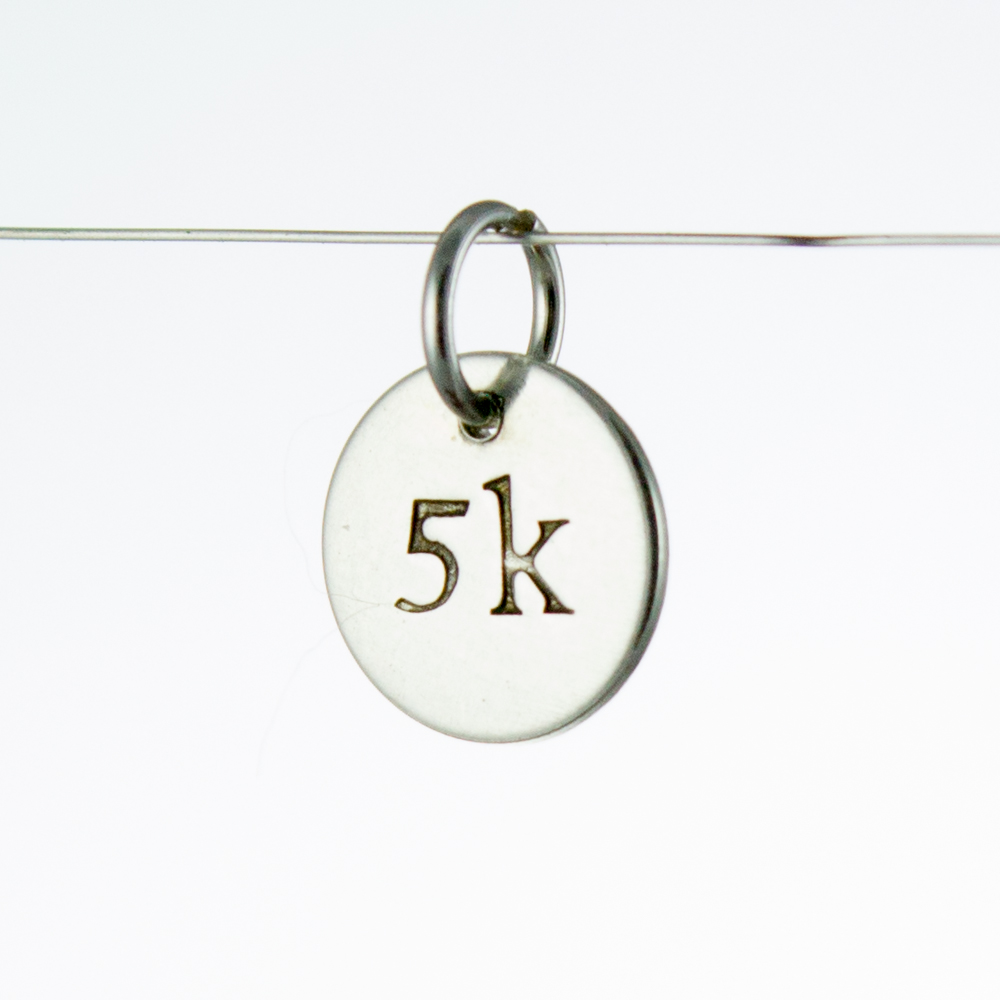 5k Running Charm Made by Abella Blue