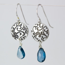 Growth Earring london blue