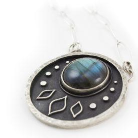 Luna Necklace by Abella Blue
