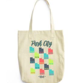 Park City Utah Tote Bag