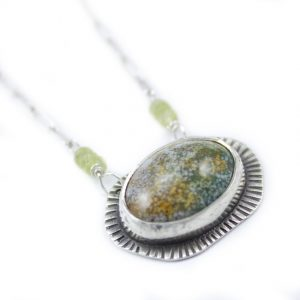 Ocean Jasper Handmade Necklace