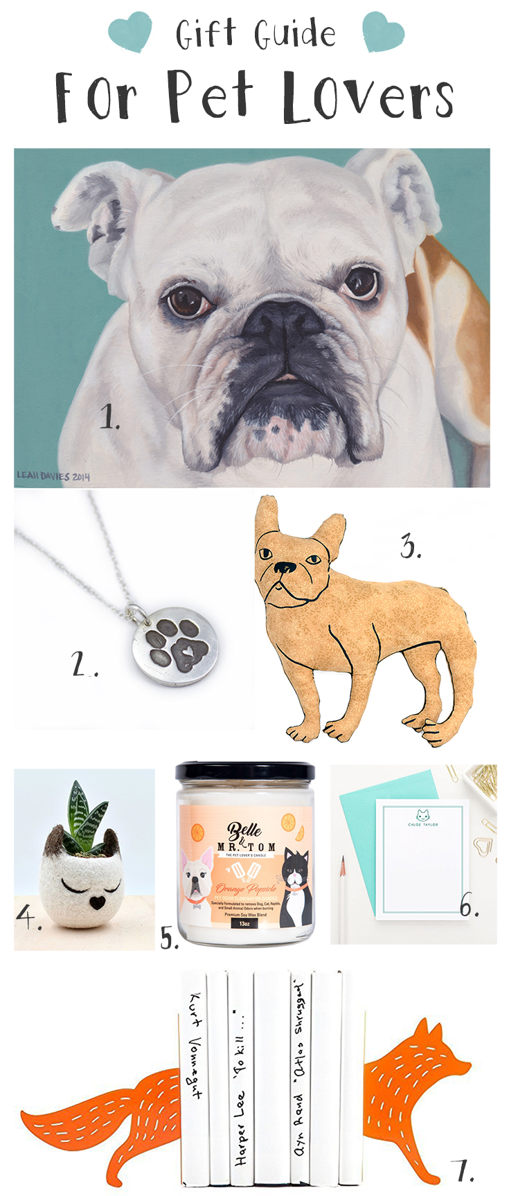 2016 Pet lovers handmade gift guide